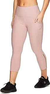 Active Women's Fashion Capri Legging with Mesh Inserts
