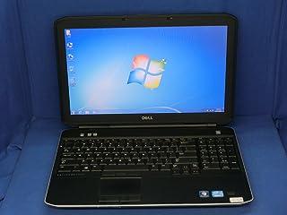 【中古】 デル Latitude E5530 ノートパソコン Core i5 3320M メモリ4GB HDD320GB DVDスーパーマルチ(DL) Windows7 Professional 64bit 英語版