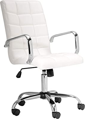 Uptown Club Office Chair, White