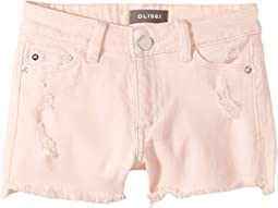 Lucy Distressed Cut Off Shorts in Country Club (Big Kids)
