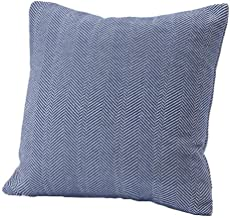 product image for Faribault Herringbone Cotton Pillow Cover Deep Blue (Cotton)