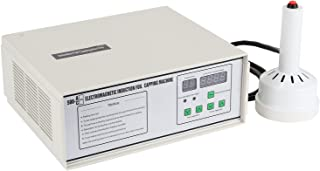Happybuy Manual Induction Sealer 20 mm-100mm Induction Bottle Sealing Machine 110V Induction Sealing machine White Bottle Cap Sealing machine