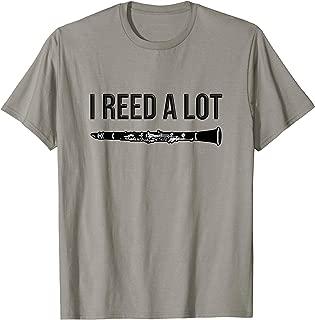 Clarinet - I reed a lot - band gift idea, Funny Clarinet T-Shirt