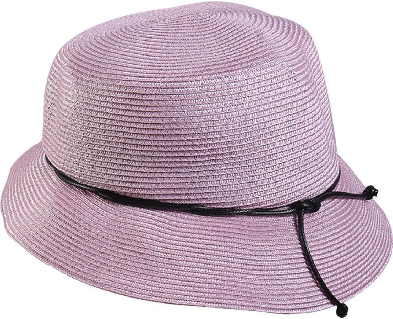 Dixinla Visor Cap Ladies Straw hat Sun Visor Outdoor hat