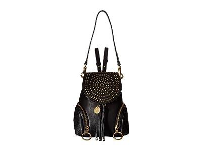 See by Chloe Olga Mini Backpack (Black) Backpack Bags