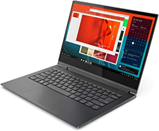 Lenovo Yoga 81C4004-FAX 2-in-1 Laptop, Intel Core i7-8550U, 13.9 Inch, 1TB SSD, 16GB RAM, Windows 10, Eng-Ara KB, Grey