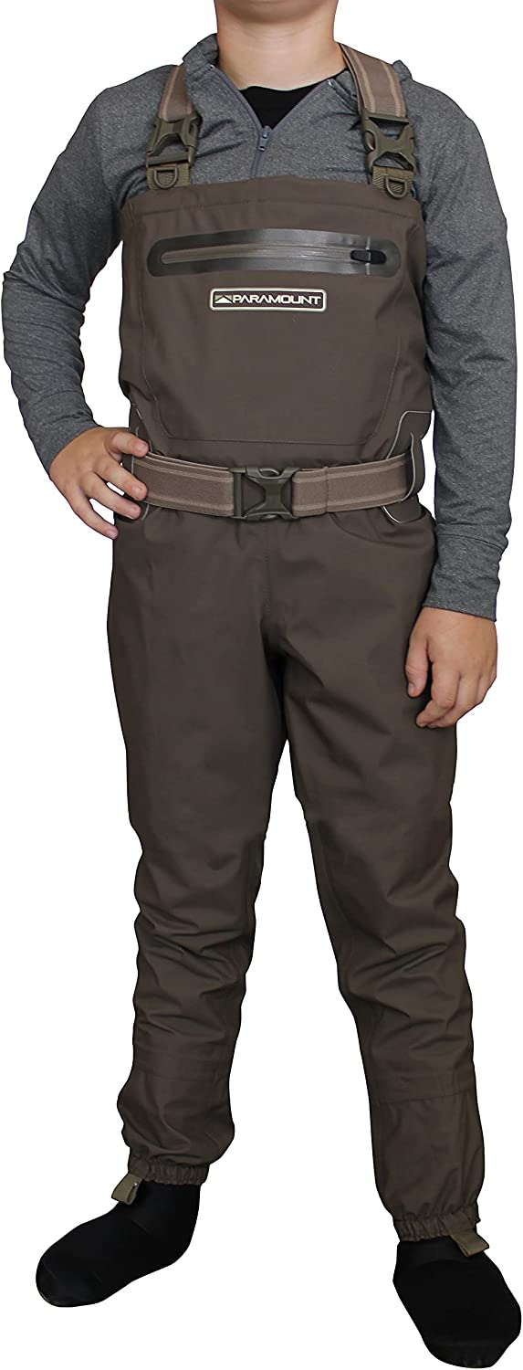 Very popular! Paramount Outdoors Stonefly Finally resale start Youth Breathable Wader Fishing Chest