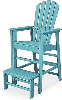 POLYWOOD SBL30AR South Beach Lifeguard Chair, Aruba