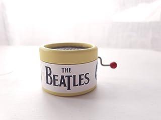 Caja de música amarilla de los Beatles. Canción Yellow Submarine