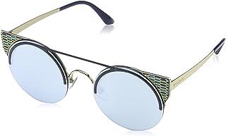 Bulgari 0Bv6088 20206J 54 Gafas de Sol Azul (BluteBlue White) Unisex-Adulto