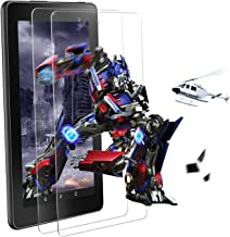 [2 Pack] All New Kindle Fire HD 8 Tablet Tempered Glass Screen Protector (8th/7th/6th Generation,2018/2017/2016 Releases) - [Anti-Scratch][Bubble Free][Easy Installation]