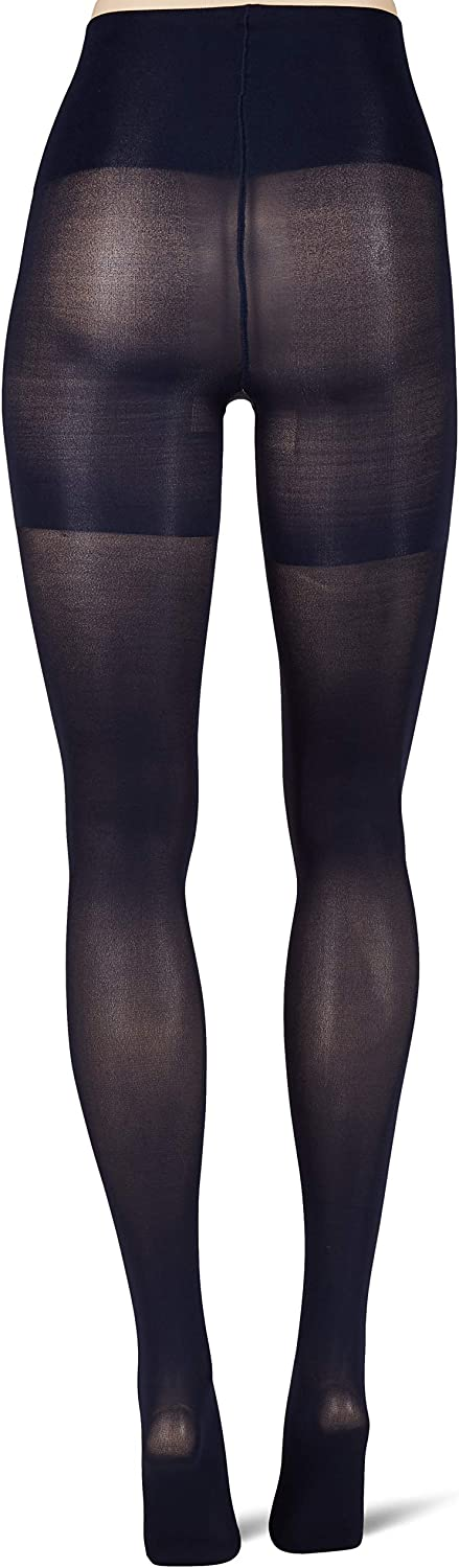 HUE womens High Waist Tights With Control Top