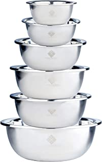 Best 20 qt stainless steel mixing bowls Reviews