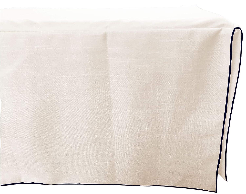 Baby Doll 注文後の変更キャンセル返品 Bedding Drake Linen 最安値に挑戦 Look Ruffle Navy Skirt Crib Dust