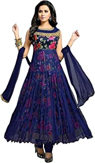 Ghaludi Fab Women's Heavy Embroidered Semi Stitched lehenga choli With Blouse Piece (Free Size)