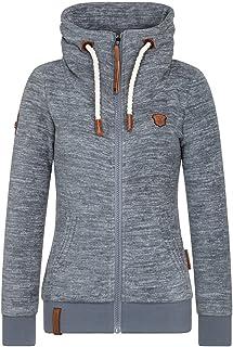 Naketano Glitzermuschi pimped W hoodie pink heather