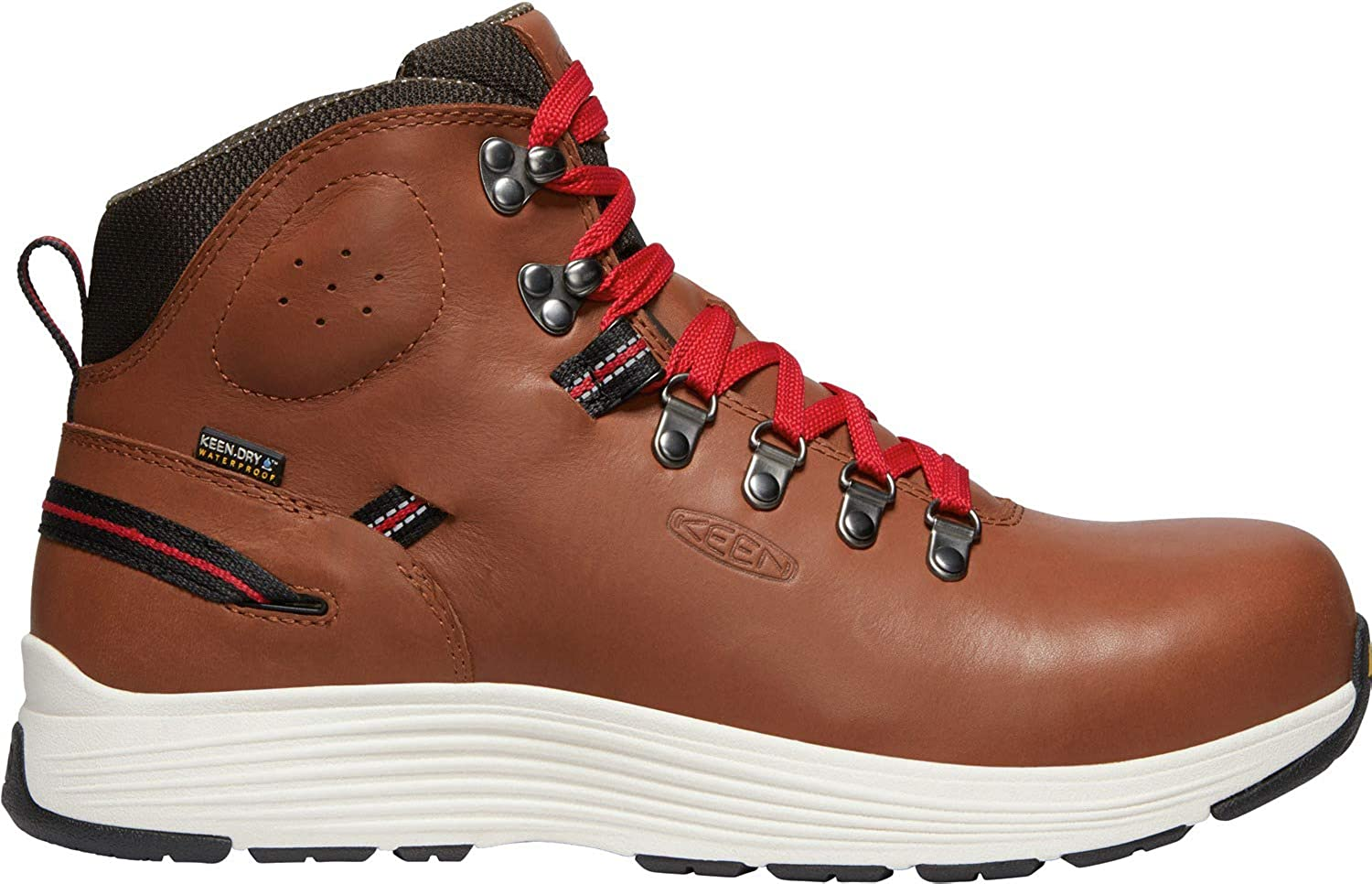KEEN Utility - Men's CSA Manchester 6'' WP Carbon Fiber Toe Waterproof Work Boots for Maintenance, Transportation, Warehouse and Distribution