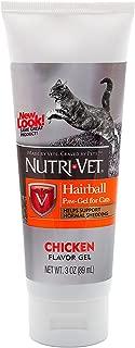 Nutri-Vet Feline Hairball Paw Gel, Salmon 3 oz (pack of 2)