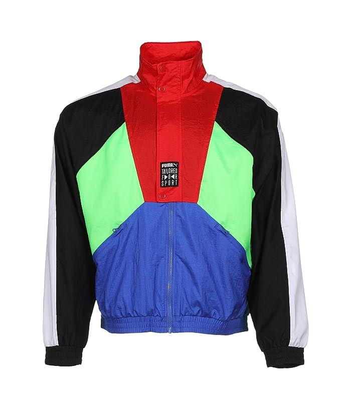 80s Windbreakers, Jackets, Coats PUMA Tailored For Sport OG Track Jacket Dazzling Blue Mens Clothing $38.25 AT vintagedancer.com