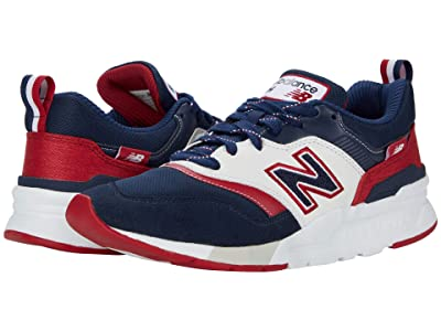 New Balance Classics 997H (Natural Indigo/Neo Crimson) Men