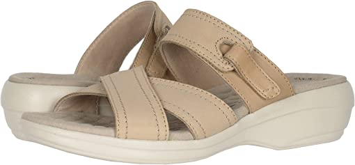 Sand Nubuck/Leather Combi