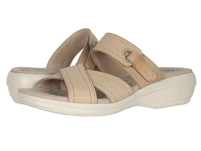 Clarks  Alexis Art (Sand Nubuck/Leather Combi) Womens Shoes