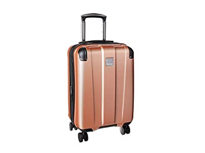 Kenneth Cole Reaction 20 Continuum Lightweight Hardside Expandable 8-Wheel Spinner Carry-On Luggage (Rose Gold) Luggage