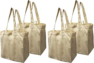 Best canvas reusable grocery bags Reviews