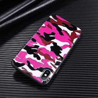 a3255e09ff0 DREAMBAB Fundas Camuflaje para iPhone 6 6S 7 8 Plus X XR XS Caja De Teléfono
