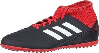 Unisex Predator Tango 18.3 TF Soccer Shoe, Black/White/red, 3.5 M US Big Kid