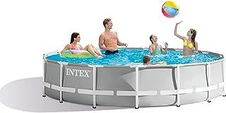 "Intex Round Prism Frame Pool Set | 15ft x 42"" | 26723EH model"