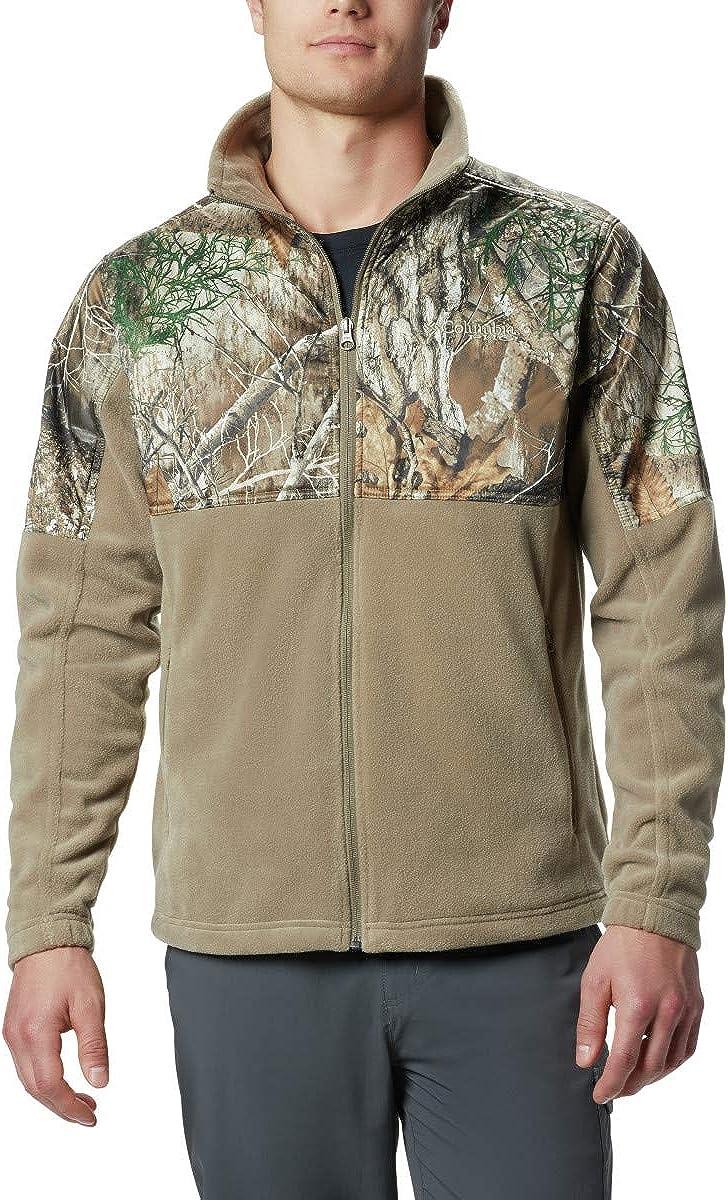 Columbia Mens PHG Fleece Overlay Jacket