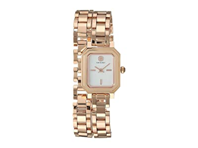 Tory Burch Robinson Mini Double Wrap Bracelet Watch (Rose Gold TBW1508) Watches