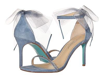 Blue by Betsey Johnson Tori Heeled Sandal (Blue) Women