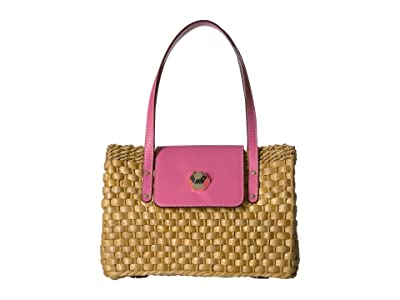 Frances Valentine Gigi Medium Hobo (Pink) Handbags