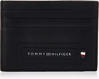 Tommy Hilfiger Modern Card Case Holder, Black, AM0AM06005