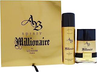 Lomani Ab Spirit Millionaire Eau de Parfum Spray for Women 3.3 Ounce / 100 Milliliters