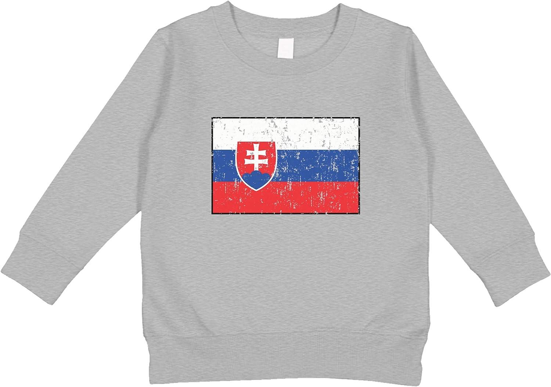 Amdesco Cheap SALE Start Slovakia Classic Flag Slovak Sweatshirt Toddler