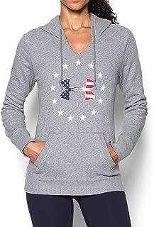Freedom Women's Hoody - True Grey Heather/Red