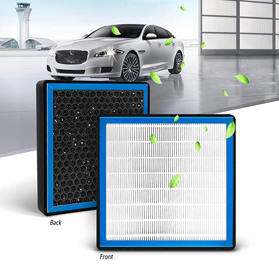 KAFEEK HEPA Honeycomb Cabin Air Filter Fits CF10132, 87139-06030, 87139-32010, 87139-YZZ05, Replacement for Toyota/Lexus, includes Activated Carbon Particles