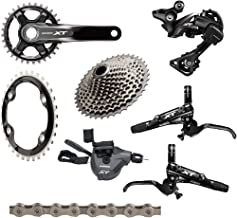 SHIMANO XT 8000 170mm 8-Piece Groupset Including Brakes