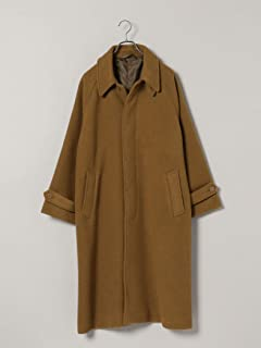 [シップス] コート スーパー100'S メルトン ビッグシルエット ステンカラー コート メンズ 114150417