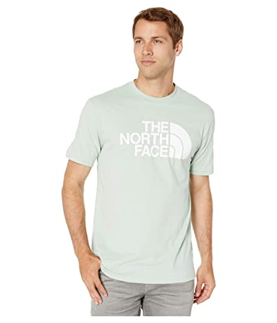The North Face Short Sleeve Half Dome T-Shirt (Silt Green/TNF White) Men