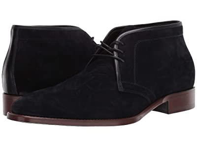 J&M Collection Cormac Chukka (Navy) Men