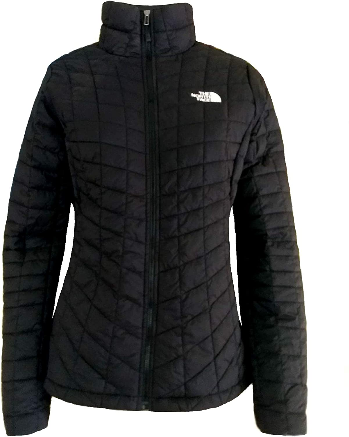 The North Face Women's Thermoball Full Zip Insulated Jacket (Small, TNF Black)