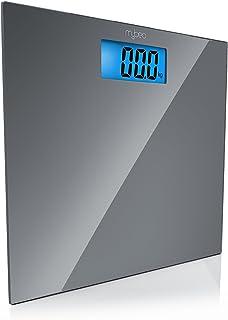 MyBeo - Báscula Corporal de Baño - digitales - Kg, lb, st - capacidad 150 kg - 4x sensores de medición DMS - Pantalla LCD de 3,5