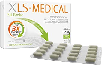 XLS Medical Fat Binder Tablets Weight Loss Aid 60 Tablets Estimated Price : £ 14,39
