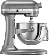 KitchenAid Factory Professional 600 6-Qt. Bowl-Lift Stand Mixer - Cocoa Silver (Renewed)