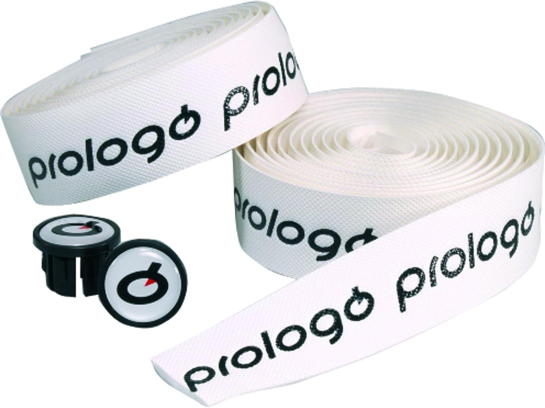Prologo(プロロゴ) ワンタッチ バーテープ ホワイトブラックロゴ