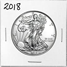 2018 American Silver Eagle .999 Fine Silver Dollar in Air-Tite with Our Certificate of Authenticity